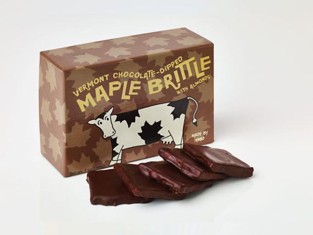 Vermont Maple Almond Brittle /Chocolate Confections