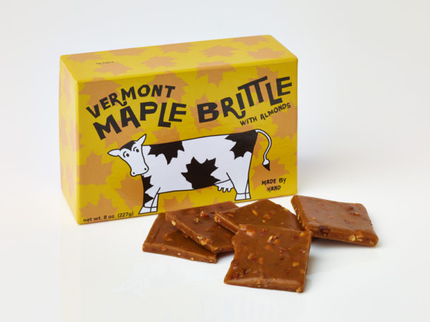 Vermont Maple Almond Brittle / Chocolate Confections