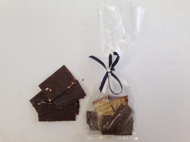 Chocolate Matzah Brittle /Chocolate Confections