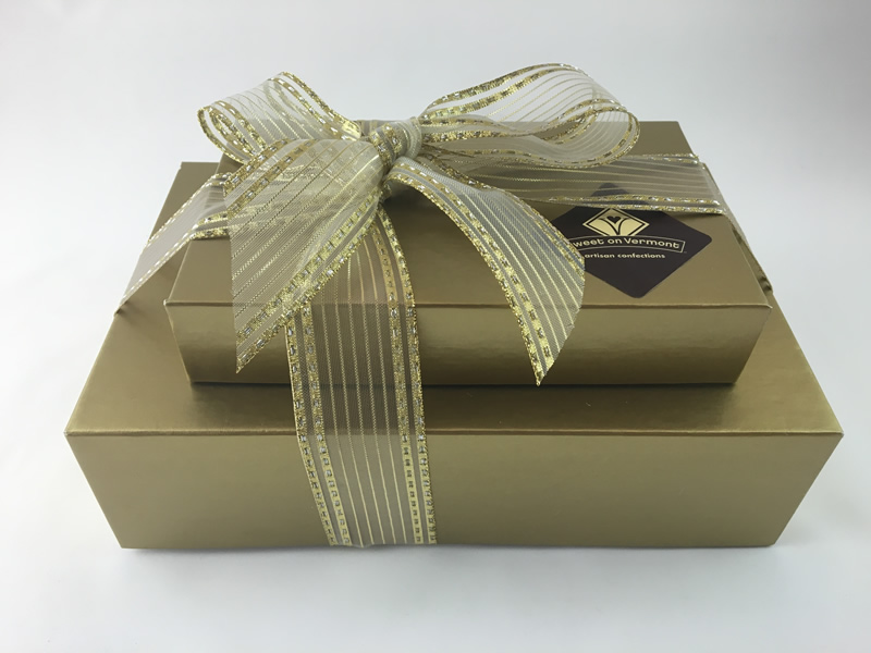 Deluxe Chocolate Gift Set / Gourmet Artisan Christmas Chocolate Confections / Gourmet Artisan Hanukkah Chocolate Confections