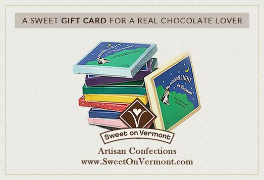Sweet on Vermont Gourmet Chocolate E Gift Cards