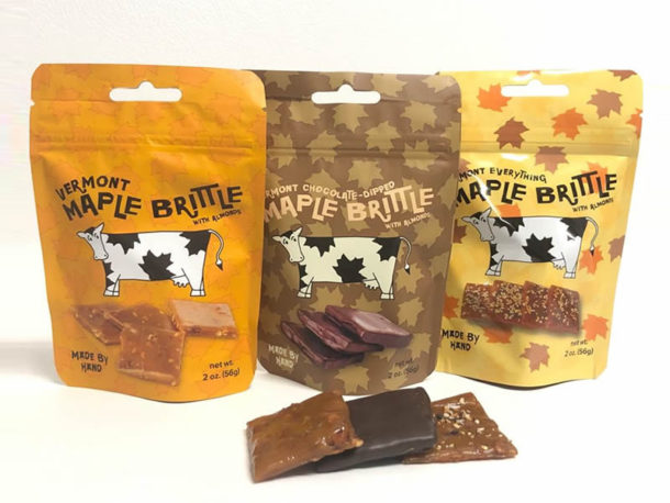 Vermont Maple Brittle 2oz Pouches
