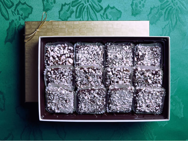 Peppermint Brittle / Gourmet Artisan Christmas Chocolate Confections