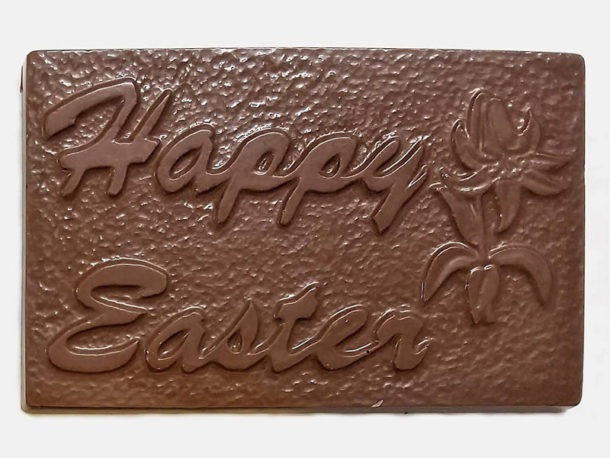 Happy Easter Chocolate Bar - Milk Chocolate