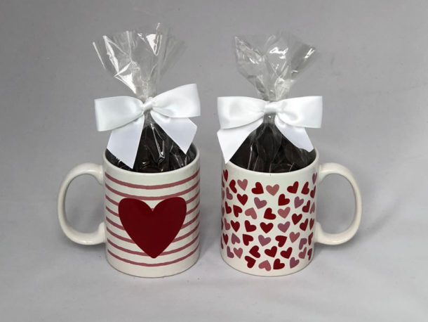 Hot Chocolate With Heart Mug - Sweet on Vermont