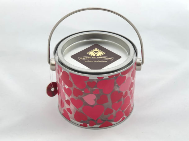 Valentine's Brittle Pail - Sweet on Vermont